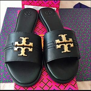 Tory Burch Every slide sandals NIB SZ 7